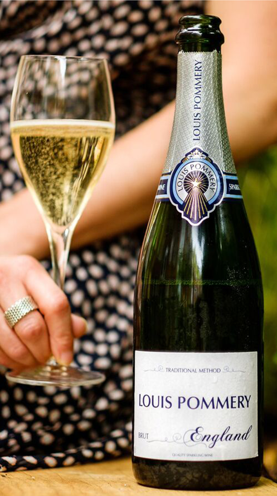 Picture of Louis Pommery English Brut, Hampshire
