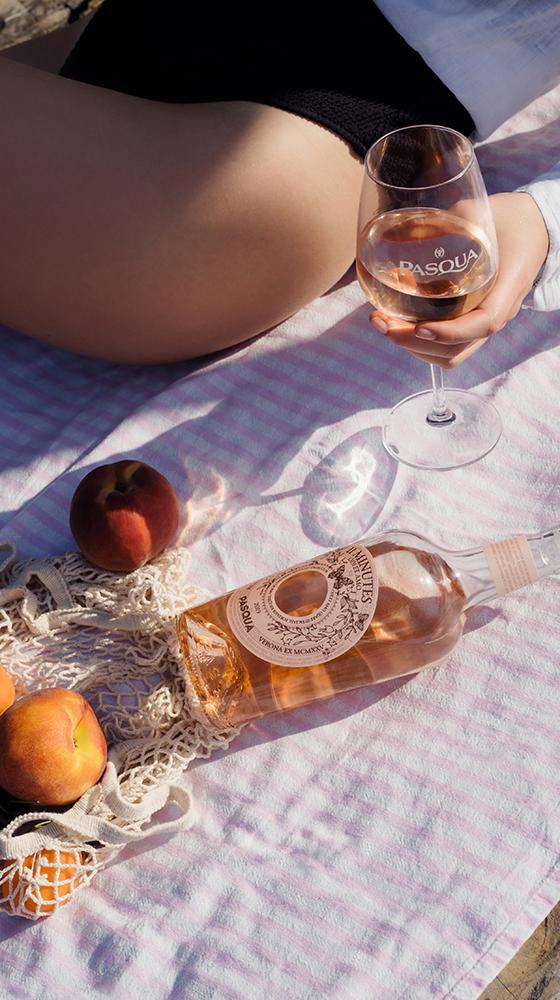 Picture of Pasqua '11 Minutes' Rosé, Lake Garda