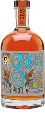 Picture of Rockstar Two Swallows Spiced Rum 50cl