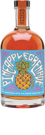 Picture of Rockstar Pineapple Grenade Overproof Spiced Rum 50cl