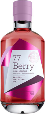 Picture of 77 Berry Gin Liqueur 50cl
