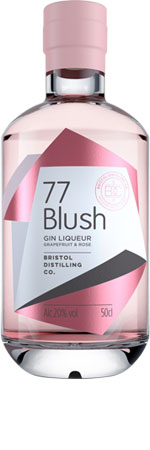 Picture of 77 Blush Gin Liqueur 50cl
