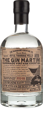 Picture of The Gin Martini Cocktail 50cl
