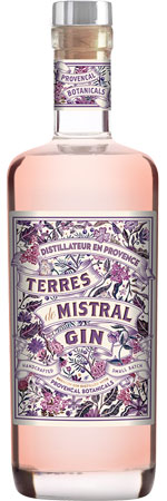 Picture of Mistral Dry Rose Gin 70cl