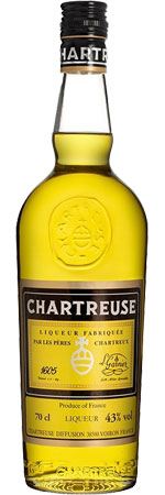Picture of Yellow Chartreuse Liqueur 70cl