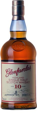 Picture of Glenfarclas 10 Year Old Single Malt Whisky 70cl