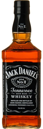 Picture of Jack Daniels Whiskey 70cl