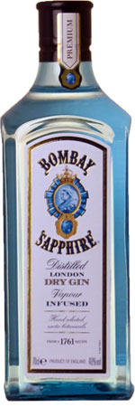 Picture of Bombay Sapphire London Gin 70cl