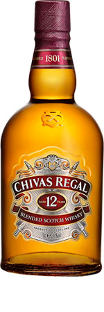 Picture of Chivas Regal 12 Year Old Scotch Whisky 70cl