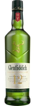 Picture of Glenfiddich 12 Year Old Speyside Single Malt Whisky 70cl