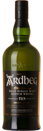 Picture of Ardbeg 10 Year Old, Single Islay Malt Whisky 70cl