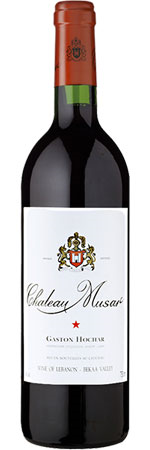 Picture of Château Musar 2001, Gaston Hochar, Lebanon