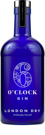 Picture of 6 O'Clock Gin 43% 70cl