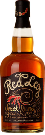 Picture of Red Leg Spiced Rum 70cl