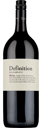 Picture of Definition Shiraz 2017 Magnum, Langhorne Creek