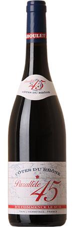 Picture of Côtes du Rhône Rouge 'Parallele 45' 2018 Paul Jaboulet Aîné, France
