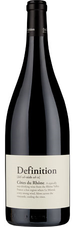 Picture of Definition Côtes Du Rhône Magnum 2017