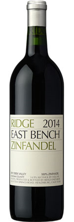 Picture of Ridge East Bench Zinfandel 2018 Dry Creek Valley, Sonoma County
