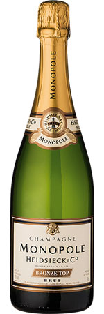 Picture of Heidsieck and Co. Monopole 'Bronze Top' Brut Champagne