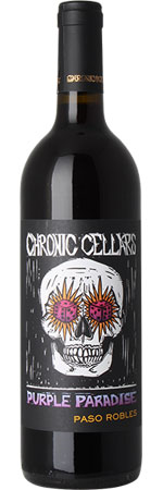 Picture of Chronic Cellars 'Purple Paradise' 2019, Paso Robles