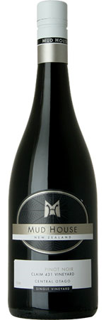 Picture of Mud House Claim 431 Pinot Noir 2014 Central Otago