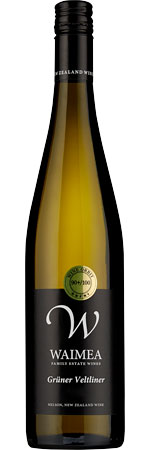 Picture of Waimea Estate Grüner Veltliner 2018, Nelson