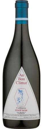 Picture of Au Bon Climat Pinot Noir 'Isabelle' 2016/17 California