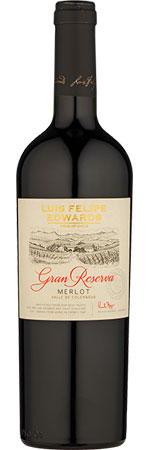 Picture of Luis Felipe Edwards Gran Reserva Merlot 2019, Colchagua Valley