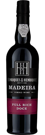 Picture of Henriques and Henriques 3 Year Old Full Rich Madeira 50cl