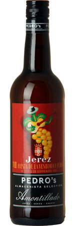 Picture of Pedro's Almacenista Selection Amontillado Sherry