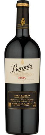 Picture of Beronia Gran Reserva Rioja 2011