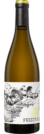 Picture of Figure Libre Freestyle Blanc 2018 Domaine Gayda, Pays d'Oc