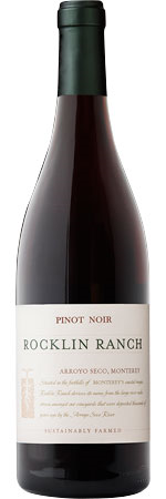 Picture of Scheid Family Wines 'Rocklin Ranch' Pinot Noir 2017/18, Monterey