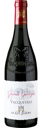 Picture of Vacqueyras 'Grande Garrigues Organic' 2018 Alain Jaume, Rhône Valley