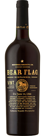 Picture of Bear Flag Zinfandel 2016/17, Sonoma County