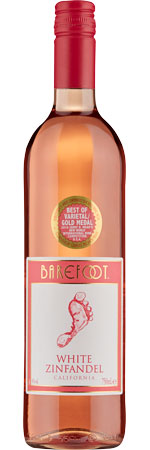 Picture of Barefoot White Zinfandel Rosé