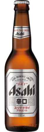 Picture of Asahi Super 'Dry' 24x330ml Bottles