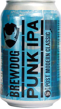 Picture of Punk IPA BrewDog 4x330ml Cans