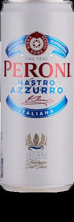 Picture of Peroni Nastro Azzurro Slimline Can 10x330ml 5.1%