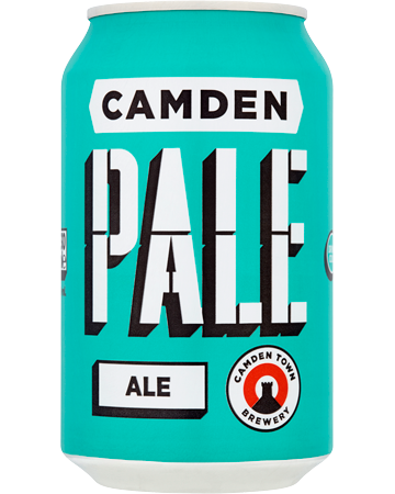 Picture of Camden Pale Ale 12x300ml Cans