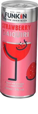 Picture of Funkin Strawberry Daquiri Nitro 4x200ml Cans