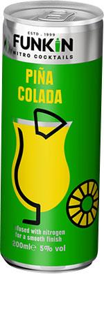 Picture of Funkin Pina Colada Nitro 4x200ml Cans