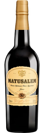 Picture of Matusalem 30-Year-Old Oloroso Sherry Gonzalez Byass Half Bottle