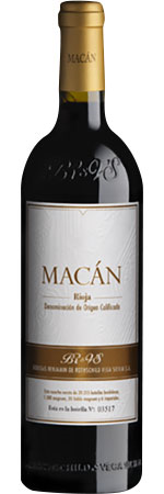 Picture of Benjamin de Rothschild & Vega Sicilia 'Macán' 2015, Rioja
