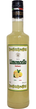 Picture of Evangelista Organic Limoncello 50cl