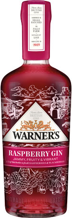 Picture of Warner's Raspberry Gin 70cl