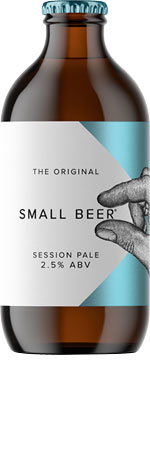 Picture of Small Beer Session Pale 6x350ml Bottles