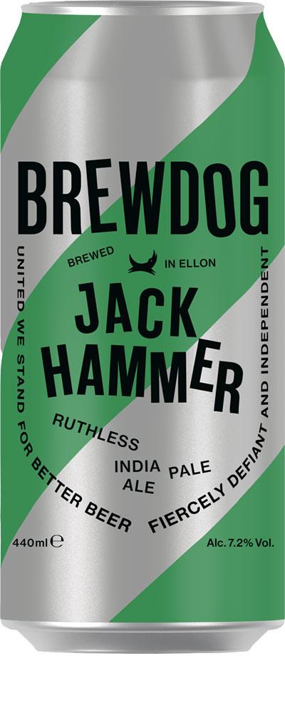 Picture of Jackhammer Ruthless IPA Brewdog 12x440ml