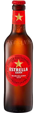 Picture of Estrella Damm 12x330ml Bottles