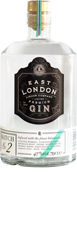 Picture of East London Liquor Batch 2 Gin 70cl